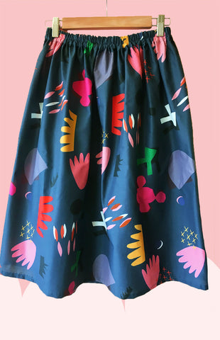 Cut Pot Play 100% cotton skirt