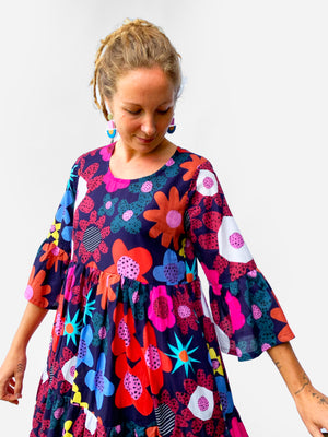 Blink Bloom dress 100% cotton