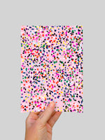 Sprinkles (large) A5 Postcard