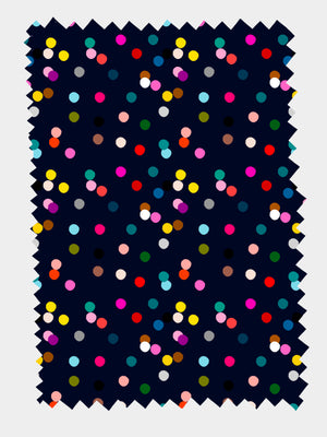 Load image into Gallery viewer, Confetti Navy 100% Organic cotton knit