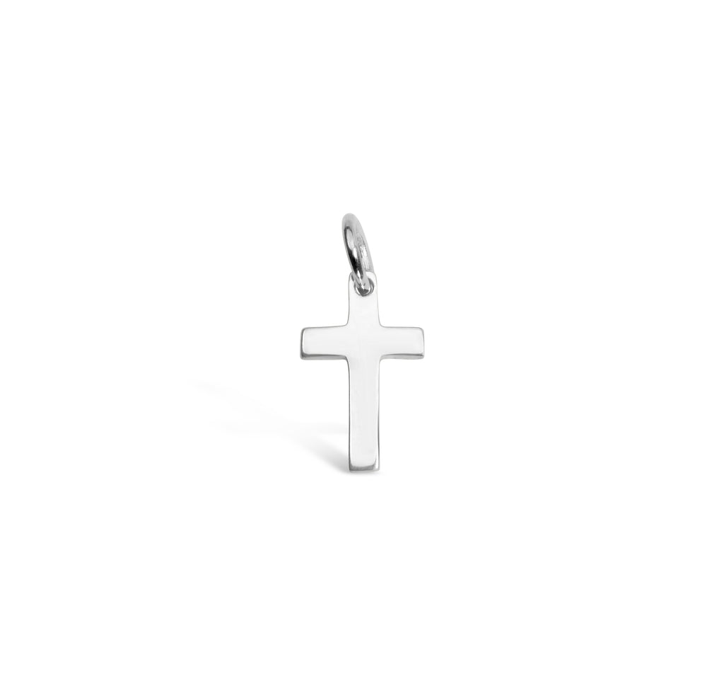 Cross Charm Add On - Silver - Gold