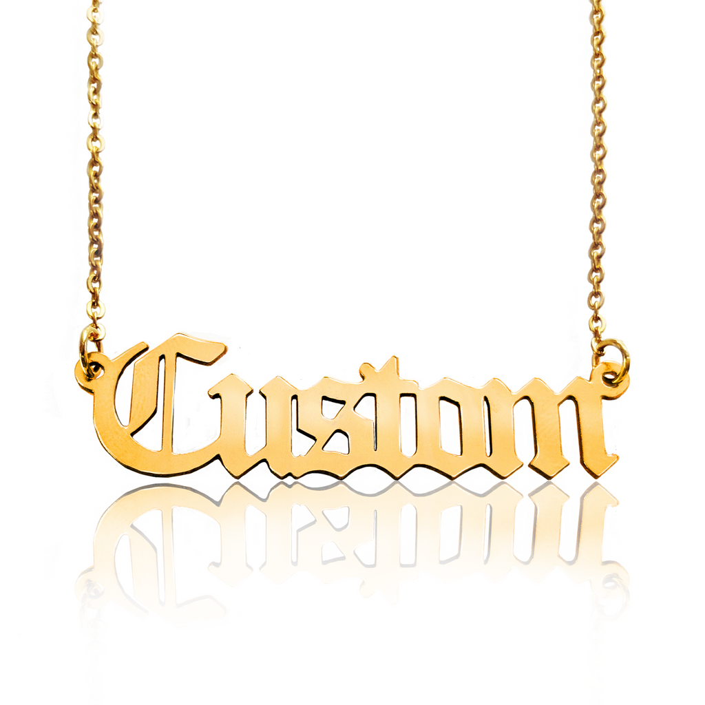 Custom Gold Filled Name Necklace