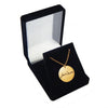 Gold Filled Personalized Handwriting Small Round Necklace