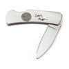 Custom Fingerprint and Handwriting Stainless Steel Pocket Knife