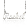 Custom Silver Name Necklace