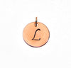 Circle Charm Add On - Silver - Gold - Rose Gold