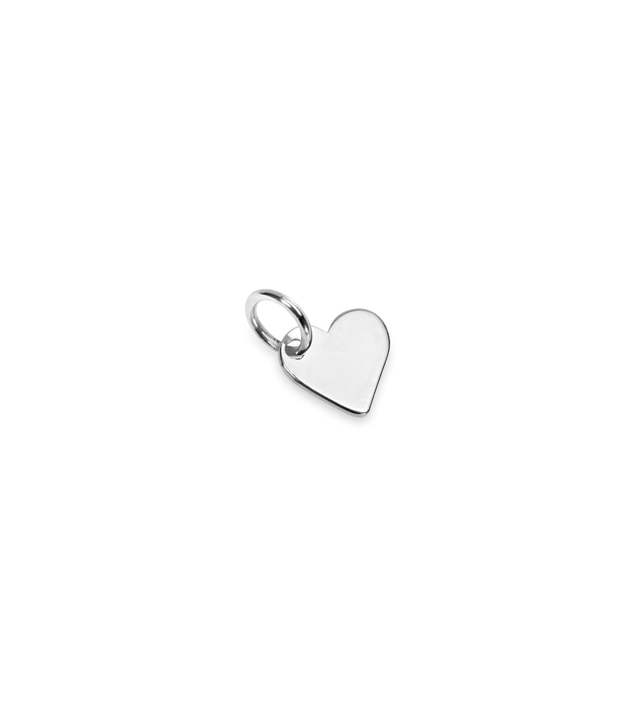 Tiny Heart Charm Add On - Silver - Gold - Rose Gold
