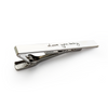 Personalized Custom Handwriting Tie Clip