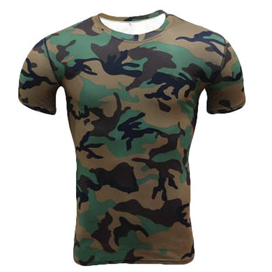 Quick Dry Army T-Shirt - Fit N Funktion
