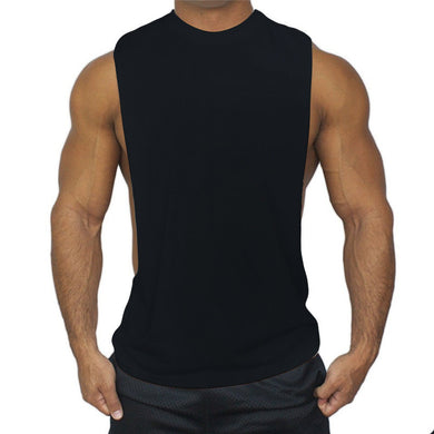 Muscle Sleeveless Crew Neck Shirt - Fit N Funktion