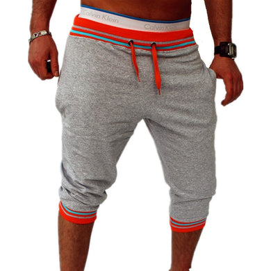 Bermuda Shorts Grey with Orange Waist - Fit N Funktion