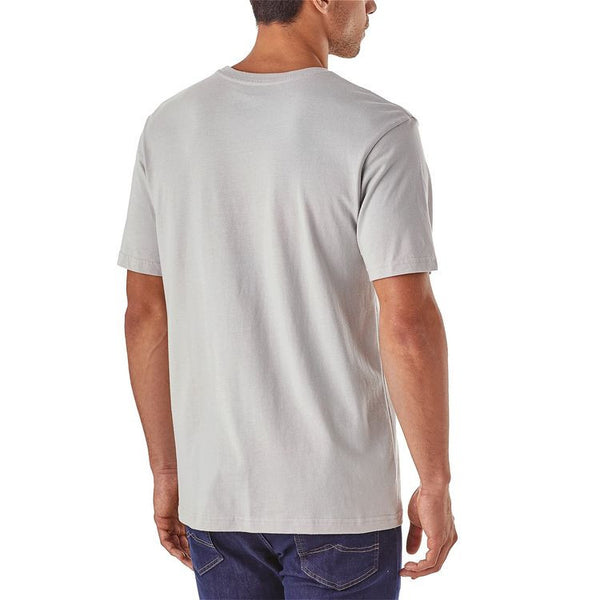 Patagonia Men's Shop Sticker Cotton T-Shirt - Spiced Coral
