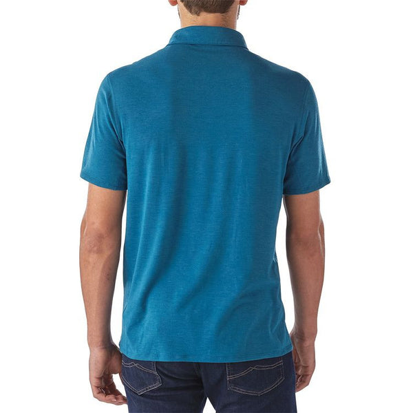 Patagonia Men's Cactusflats Polo - True Teal