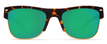 Costa Pawleys Sunglasses - Tortoise/Green Mirror Lens