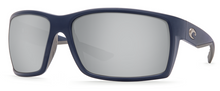 Costa Reefton Sunglasses - Blue/Silver Lens