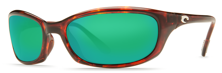 Costa Harpoon Sunglasses  - Tortoise/Green Mirror Lens