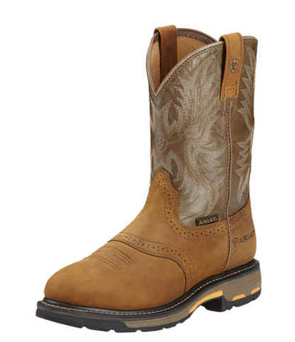 Ariat Mens Workhog Pull-On - Aged Bark