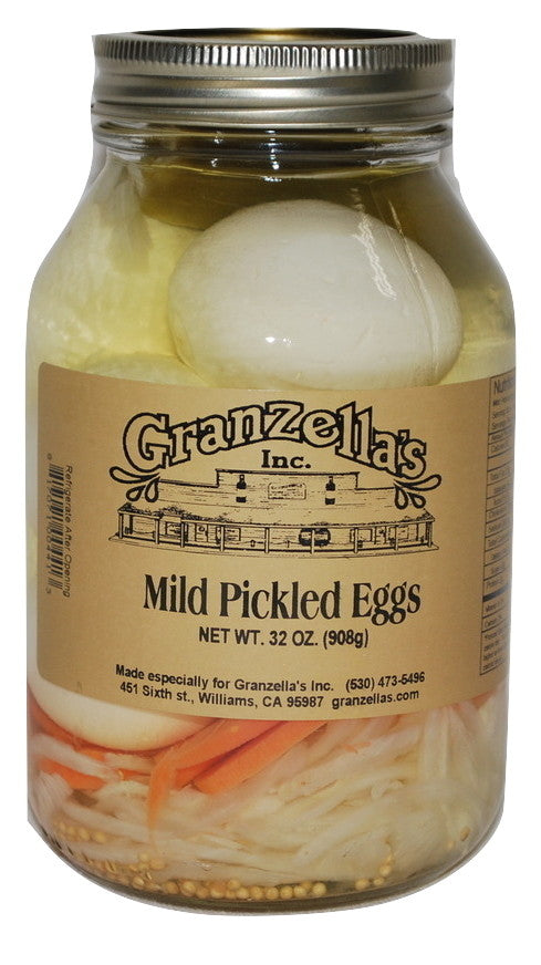 Mild Pickled Eggs