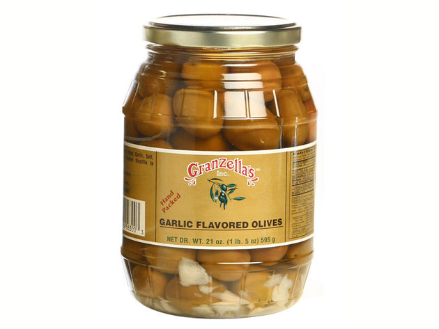 Garlic Flavored Olives