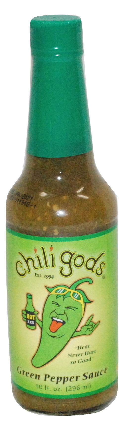 Chiligods Green Pepper Sauce