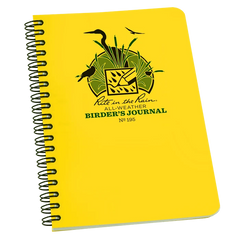 Shop Rite in the Rain All-Weather Journal at Redstart Birding.