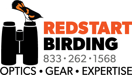 Redstart Birding. Optics Gear Expertise.
