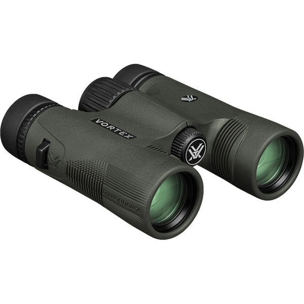 Shop the Vortex Diamondback HD 8x28 compact birding binocular.
