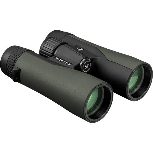 The Vortex Crossfire HD 8x42 birding binocular maintains its predecessor's original rugged exterior.
