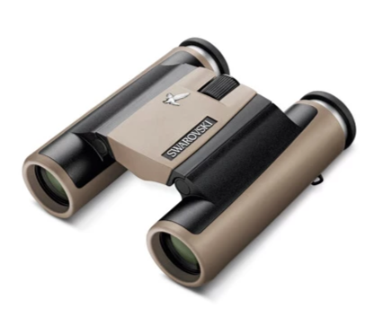 Shop the Swarovski 8x25 CL Pocket Sand Brown at Redstart Birding.