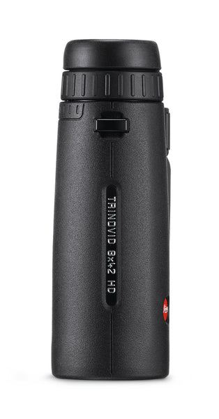 The Leica 8x42 Trinovid HD binocular is waterproof, submersible, and internally fog-proof.