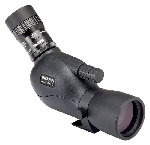 The Opticron MM4 50 GA ED/45 12-36x Travelscope is an optimal spotting scope for birding.