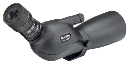 The Opticron MM4 60 GA ED/45 15-45x Travelscope's generous eye relief is great news for people who wear eyeglasses.