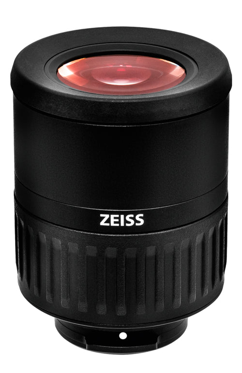 The Zeiss Harpia Eyepiece offers optimal comfort for bird watchers when it's used with Harpia 85 or Harpia 95 spotting scopes.