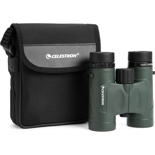 The Celestron 8x32 Nature DX comes with its own binocular case and Celestron's limited lifetime warranty.