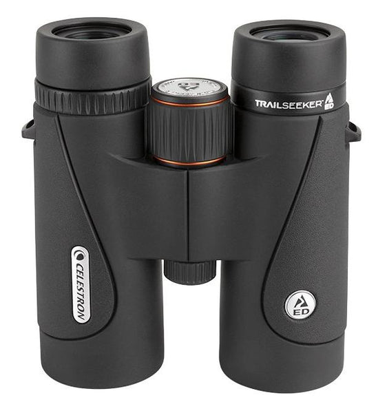 The Celestron 8x42 Trailseeker ED binocular is perfectly suited for birding and nature observation, with mechanical, optical, and ergonomic features that make this model comparable to higher-end optics.