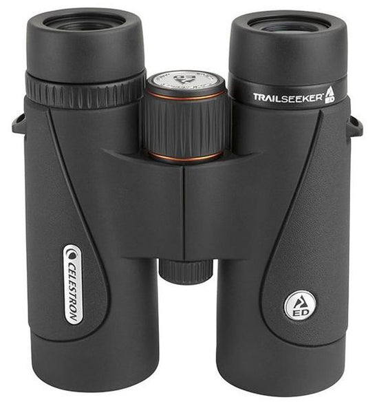 The Celestron TrailSeeker ED 10x42 binocular's high-level performance makes it stand out from other birding optics in its class.