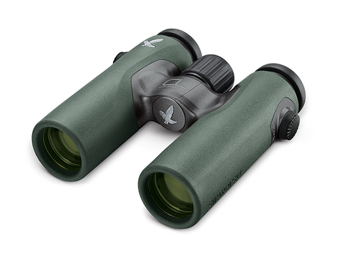 The Swarovski 8x30 CL Wild Nature binocular has a wide field of view that bird watchers need.