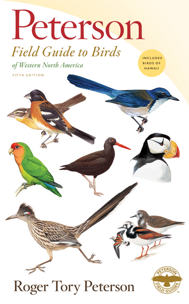 Get the fifth edition of Peterson Field Guide to Birds of Western North America at Redstart Birding!