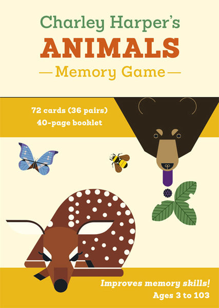 Charley Harper's Animal Memory Game