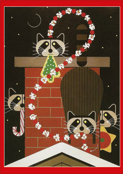 Charley Harper Christmas Caper Holiday Cards