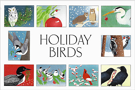 Bird Themed Holiday Cards from Crane Creek Graphics