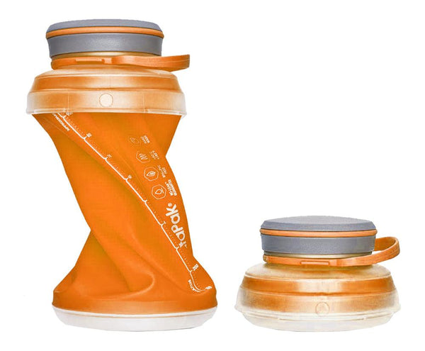 Shop the HydraPak Stash Water Bottle at Redstart Birding.