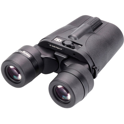 Shop the Opticron 12x30 Imagic IS image stabilizing binocular at Redstart Birding.