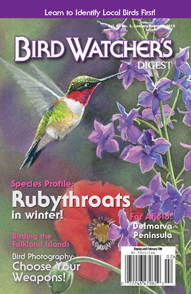 Bird Watcher's Digest 2015 Back Issues