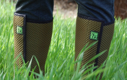 Lymeez 3D Mesh Tick Gaiters keep tick-borne diseases at bay.