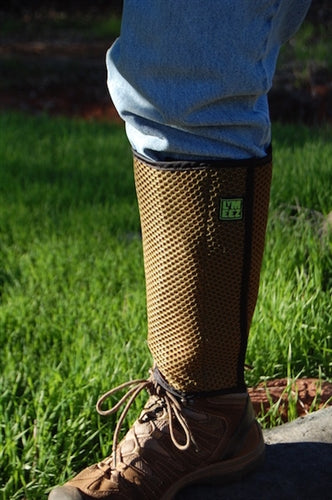 Lymeez 3D Mesh Tick Gaiters are perfect for birding.