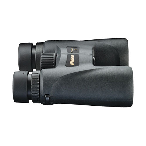 The Nikon Monarch 5 10x42 binocular is waterproof and nitrogen filled.