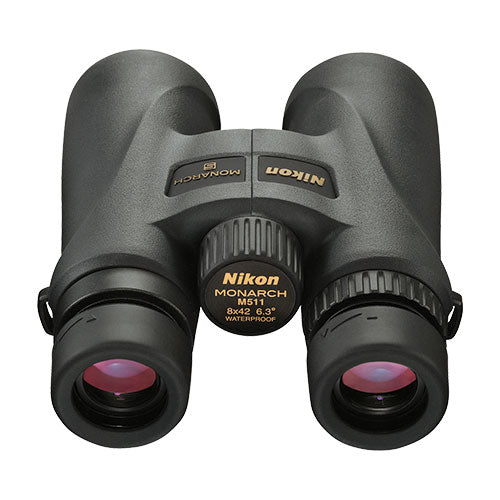 The Nikon Monarch 5 8x42 offers generous eye relief for glasses wearers.