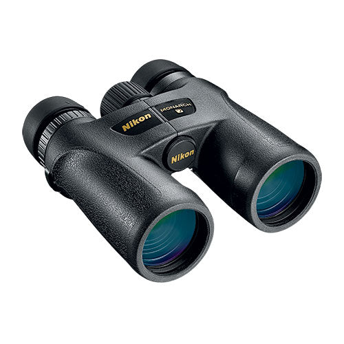 Enjoy upgraded glass and lens coatings with the Nikon Monarch 7 10x42 binocular.