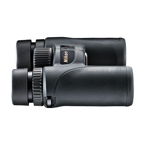 Ergonomics and quality optics combine to create the Nikon Monarch 7 8x30 birding binocular.